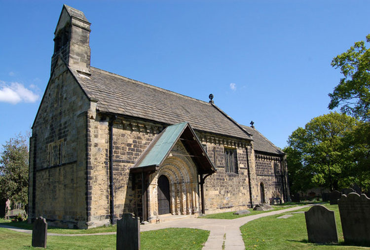 The Church of St. John the Baptist, Adel (Leeds)