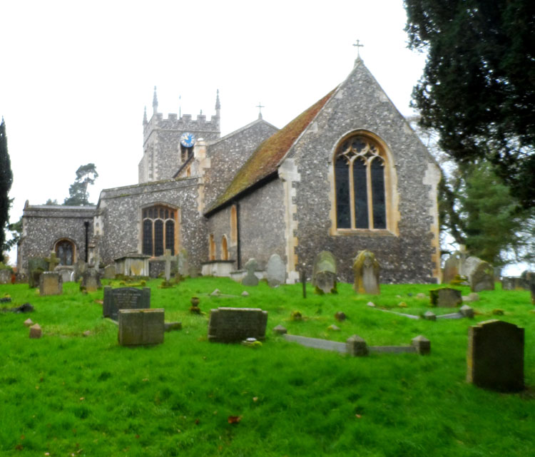 The Church of St. Mary Magdalene, Barkway (Herts)