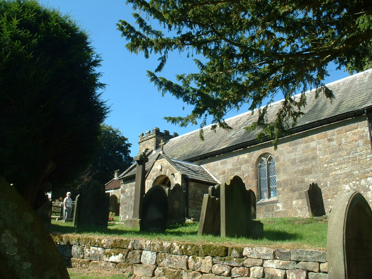 The Church of St. Nicholas, Cockayne