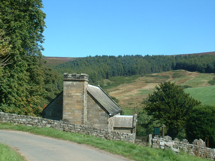 The Church of St. Nicholas, Cockayne - at the head of Bransdale