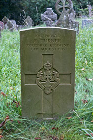 Private Ernest Turner. 2711.