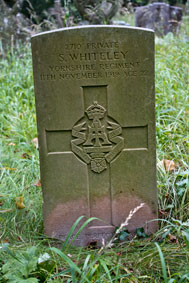 Private Sidney Whiteley. 2710.