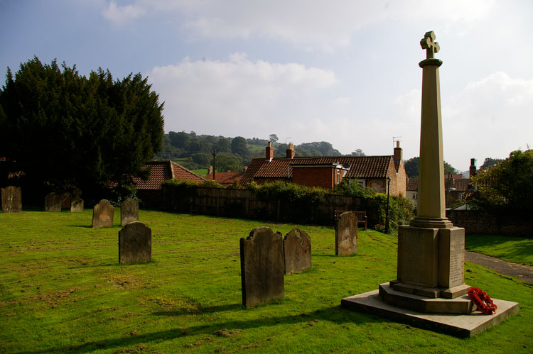 The Bishop Wilton War Memorial and St. Edith's Churchyard