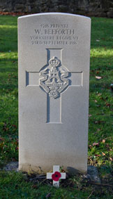 Private William Beeforth. 4215.