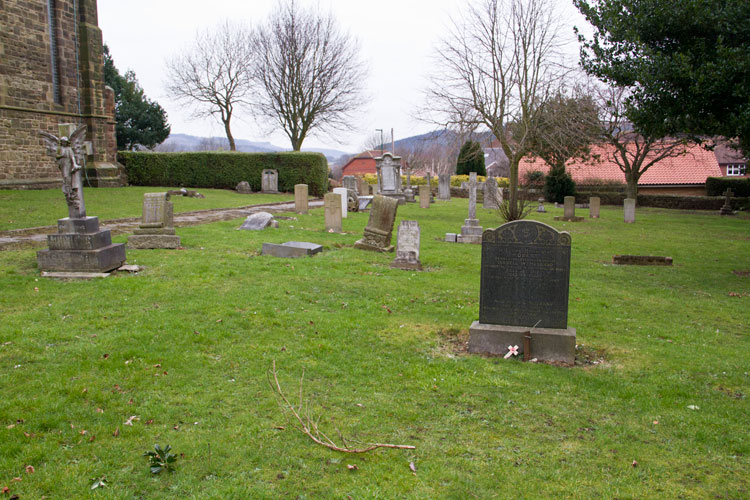 The Husband Family Headstone in SBoosbeck St. Aidan's Cemetery