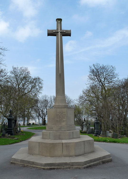 The Cross of Sacrifice - Bradford (Bowling) Cemetery