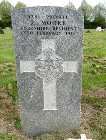 Private John Moore. 9291.
