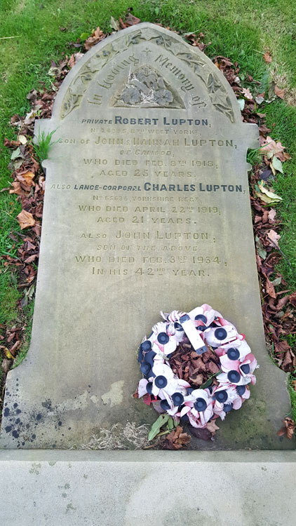 The Lupton Family Grave