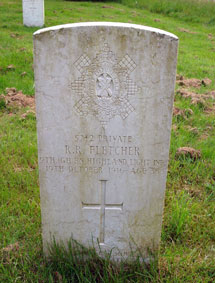 Private Richard Robinson Fletcher, 5742.