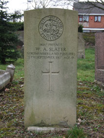Private William Arthur Slater. 96167.