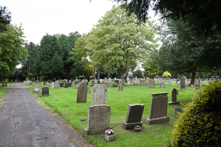 A view of Driffield Cemetery