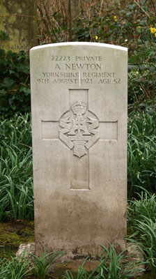 Private Alfred Newton, 22223