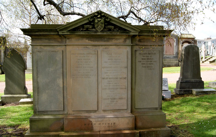 The Mosman Family Grave, Edinburgh Grange Cemetery