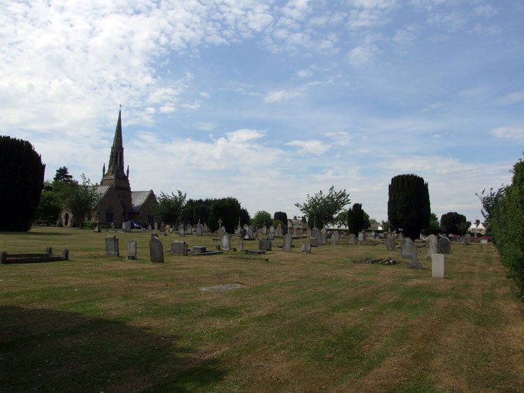 A General view of Ely Cemetery