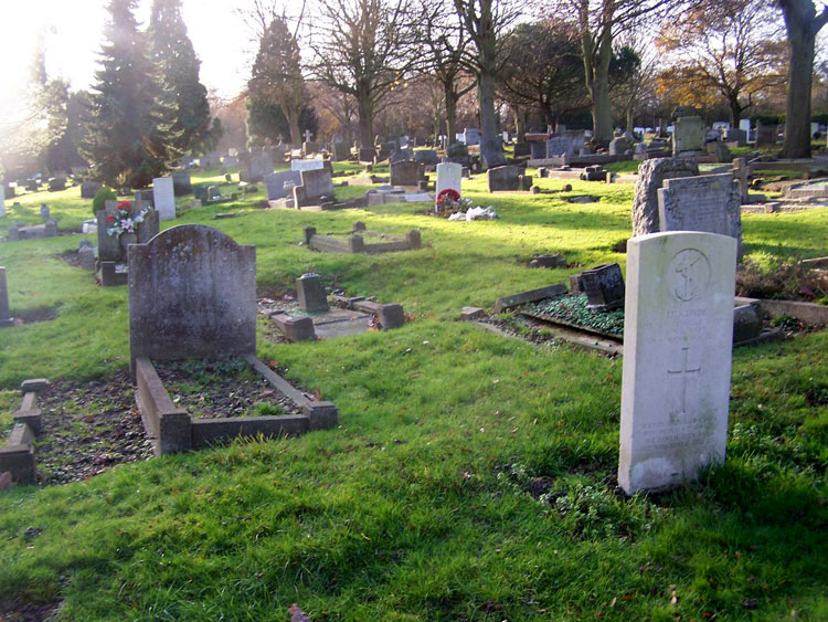 Enfield (Lavender Hill) cemetery