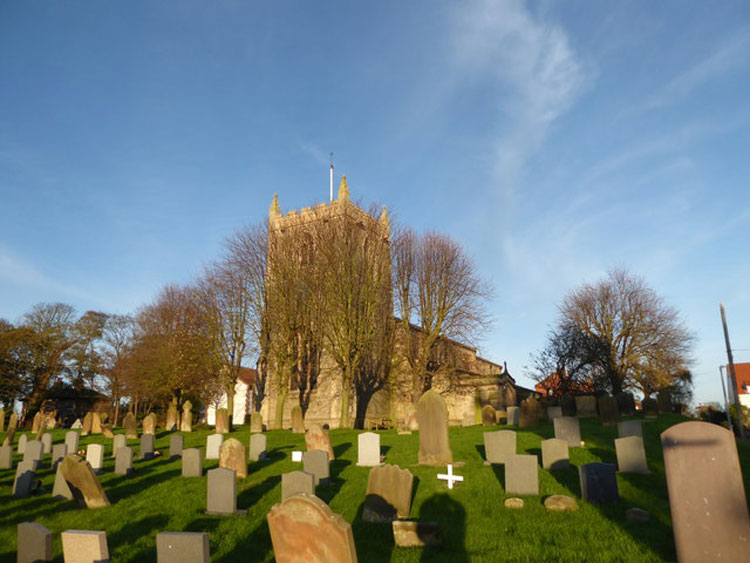 St. Oswald's Church, Flamborough and Churchyard