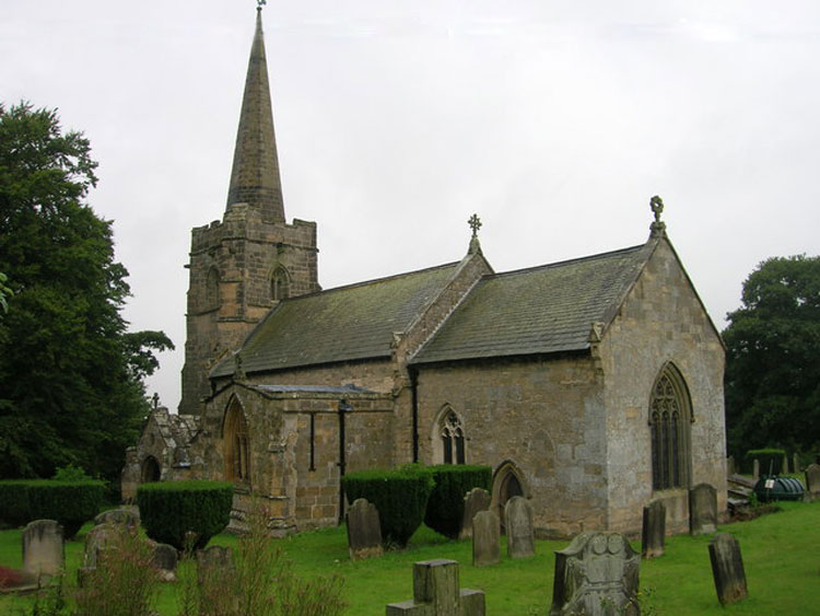 St. Nicholas' Church, Ganton