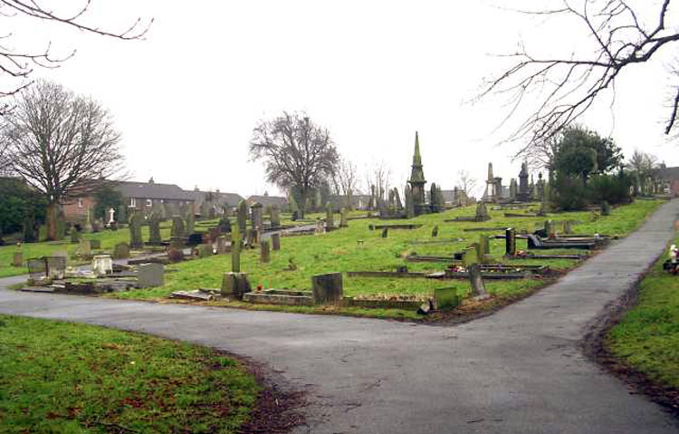 A General View of Gildersome Cemetery (1)