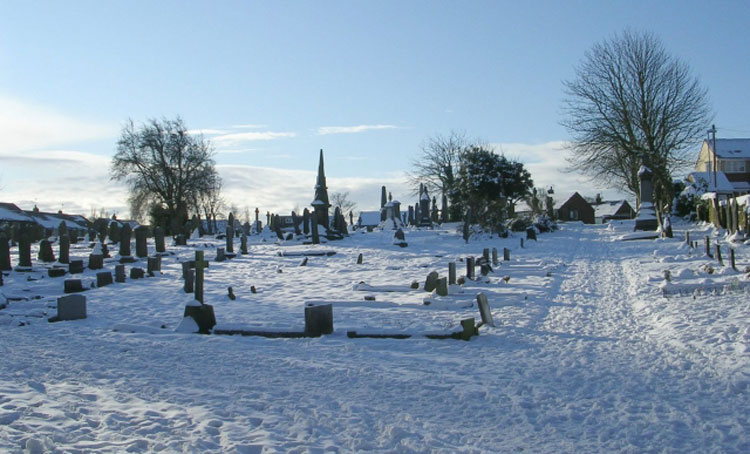 A General View of Gildersome Cemetery (2)