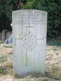 Private Edward Keeling