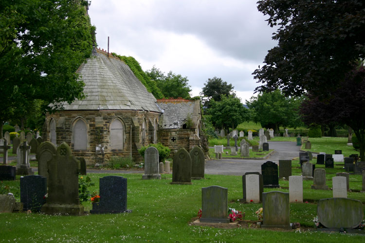 The Chapel of Rest (No Longer in Use) at Guisborough Cemetery