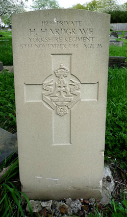 Private Herbert Hardgrave, 11299.