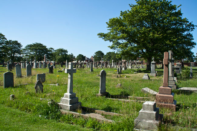 A General View of Hartlepool (North Road) Cemetery, - 1