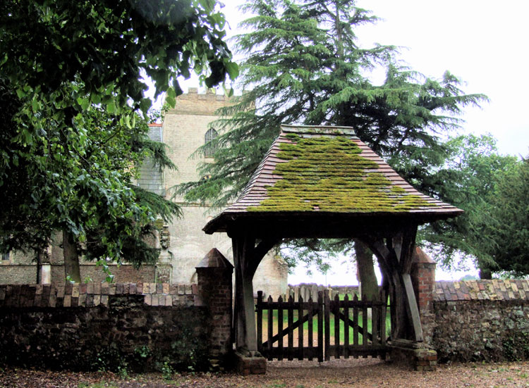 The Lych Gate into Hilgay (All Saints)