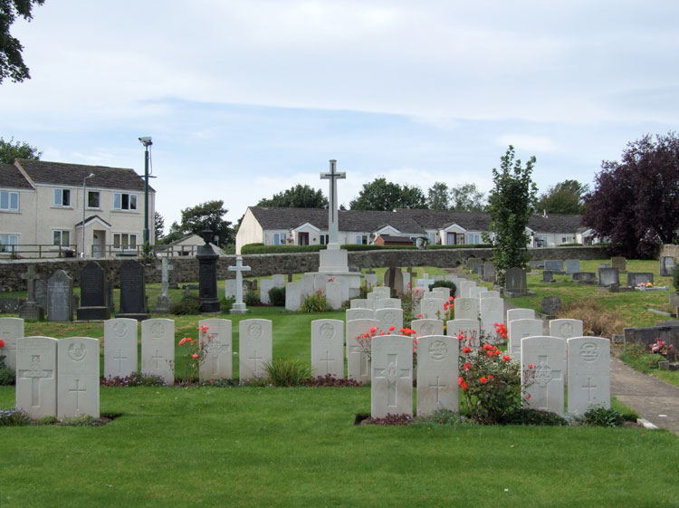 Hipswell (St. John) Churchyard, the War Graves Plot.