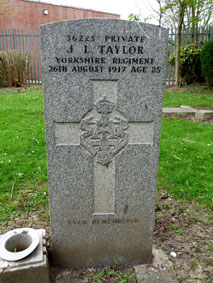 Private John Lawrence Taylor. 36225.