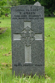 Private Thomas Green. 3/9369.
