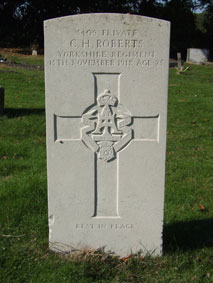Private Charles Henry Roberts, 5409.