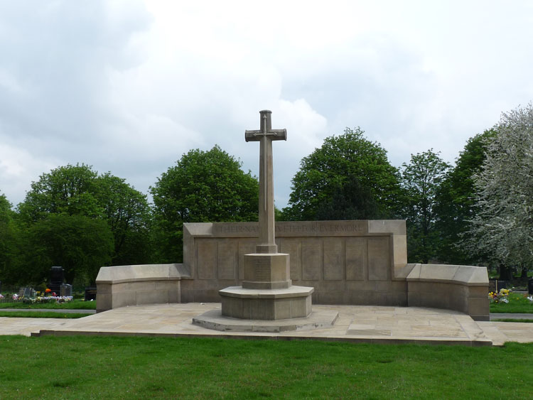 The Commemorative Screen Wall in Leeds (Harehills) Cemetery