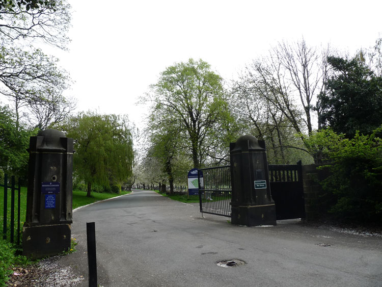 The Entrance Gateway for Leeds (Harehills) Cemetery