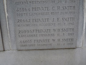 Private William Henry Smith. 44055.