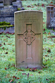 Private George Everitt Taylor. 45705.