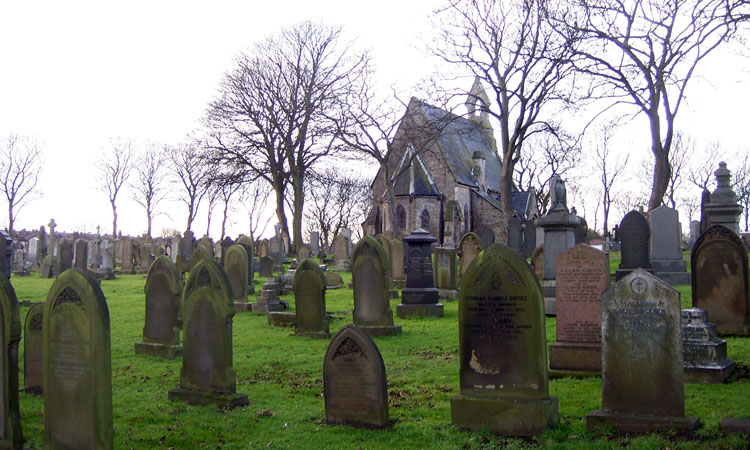 A general view of Sunderland (Mere Knolls) Cemetery