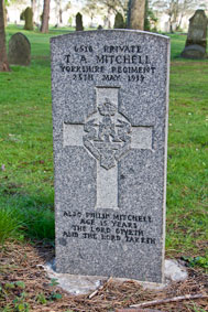 Private Tom A Mitchell. 6516.