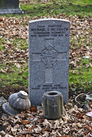 Corporal Michael Lawrence McGrath. 8424