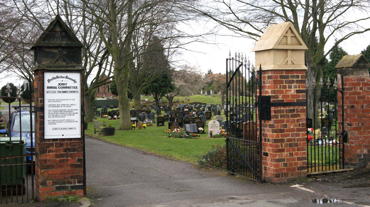 Northallerton Cemetery Entrance