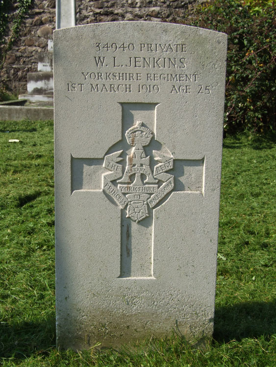 Private Walter Lloyd Jenkins. 34940.