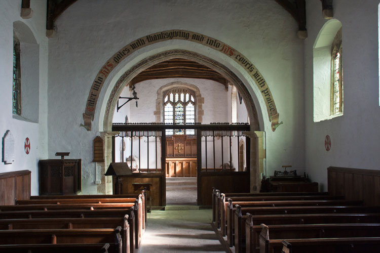 The Interior of St. Mary's Church, South Cowton.