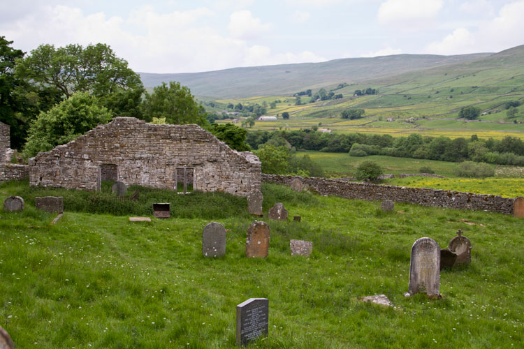 Stalling Busk, the Old Church Graveyard