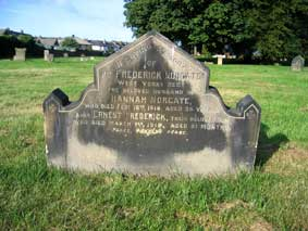 The Norgate Family Headstone