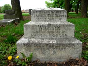 The Jennings Family Headstone