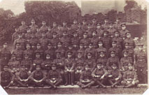 8th Battalion the Yorkshire Regiment, Folkestone 1915. Unidentified Platoon.
