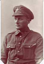 Unidentified soldier, 12th Battalion Yorkshire Regiment (Teesside Pioneers).