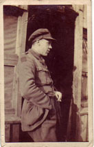 Lieutenant T R K Ginger. Signals Officer. 4th Battalion Yorkshire Regiment.