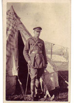 Second Lieutenant T V O Thomas. 4th Battalion Yorkshire Regiment