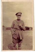 Captain Fred Robson. 4th Battalion Yorkshire Regiment.